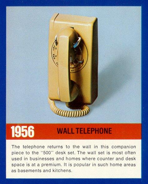 1956   WALL TELEPHONE ...