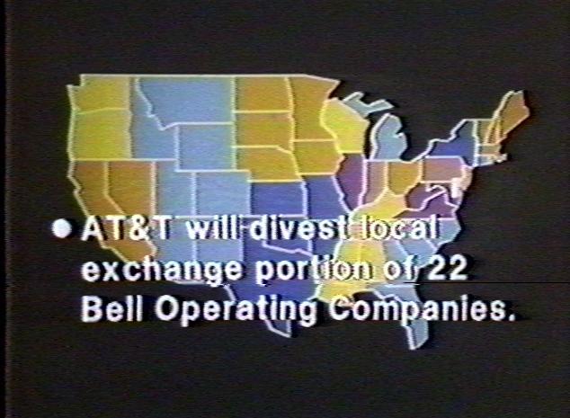 Bell System Memorial The End Of Att
