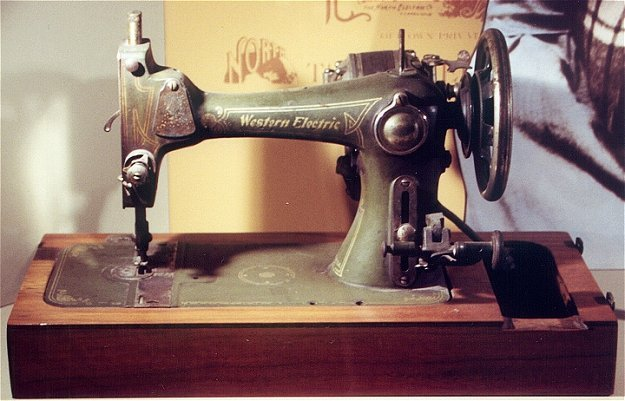 Western Electric Products Sewing Machine Mesmerizing Electric Sewing Machines